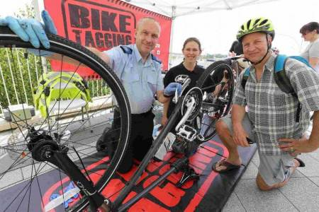 Bike Theft Initiative Gets Out And About