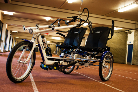 Charity Project Marks Adapted Bikes
