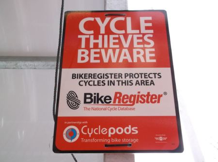 Partnership With Cyclepods To Reduce Bike Theft From Stations