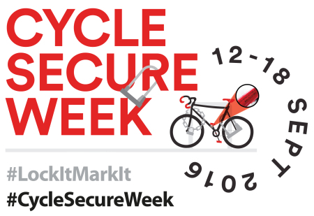 #CycleSecureWeek Gears Up For Bike Crime Crackdown