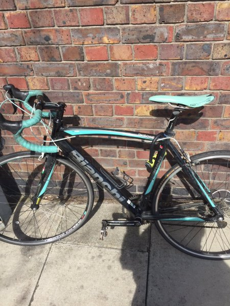 Journalist Reunited With Stolen Racing Bike