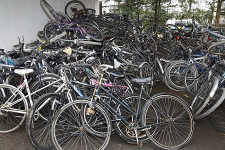 Man Arrested After Stolen Bike Haul Found In Garden
