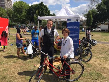 Parliamentary Support For Bike Marking