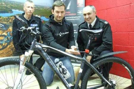 Putting A Spoke In Bike Theft