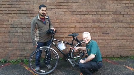 Dumped Bike Recovered & Back With Owner Next Day