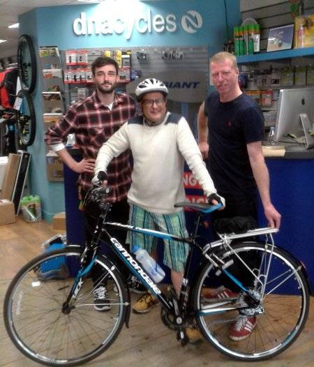 TV Presenter Timmy Mallett's Bike Found 60 Miles Away