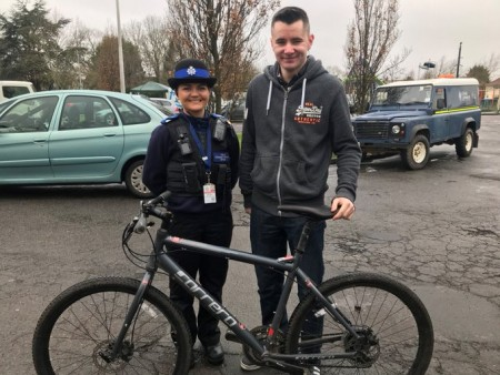 Bike Marking Results In Stolen Bikes Being Recovered