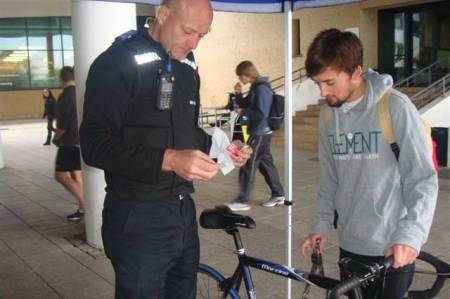 Bike Security Increases At Universities