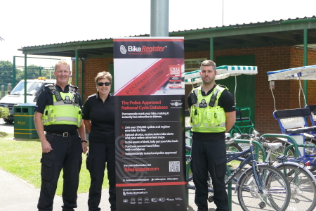 BikeRegister Network Across West Midlands