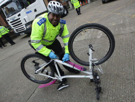 Working With Police Partners To Increase Cycle Security