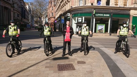 City BID Officers Join BikeRegister