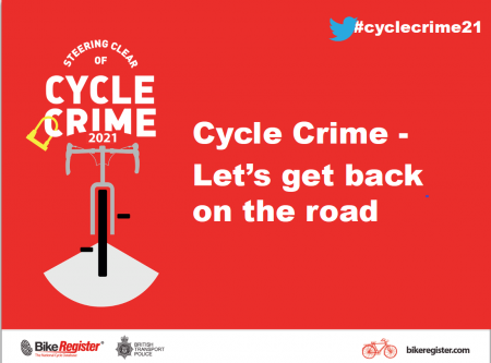 Cycle Crime Conference 2021: Let's Get Back On The Road!