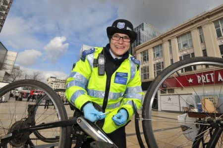 Festive Warning About Bike Theft