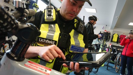 New App Downloaded To  Thousands Of Police Mobiles
