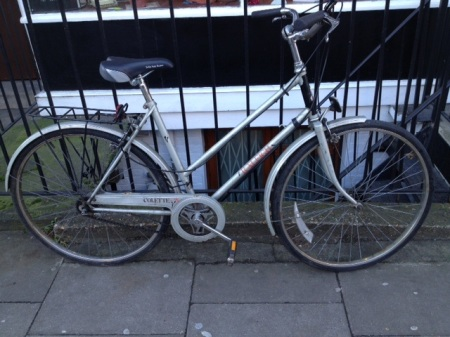 Stolen Bike Recovered In London Graveyard