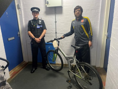 Stolen Bike Returned To Grateful Owner With Thief Tackled To The Ground