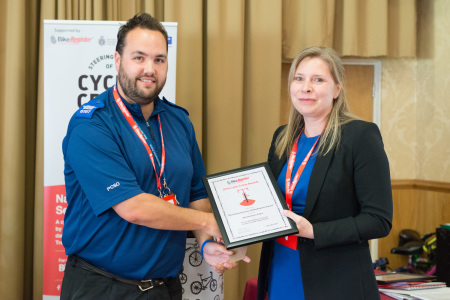 Worthy Winners: 2016 BikeRegister Cycle Crime Awards