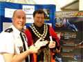 Mayoral Chains Protected Against Burglary