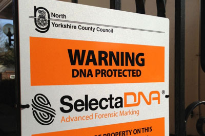 New DNA Security For All Schools In North Yorkshire