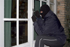 Festive Clampdown on Burglars