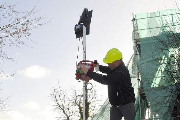 Byggepladser sikres bedre mod tyveri