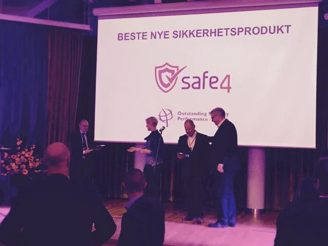 I 2015 får SelectaDNA prisen i Norge får bedste nye sikkerhedsprodukt