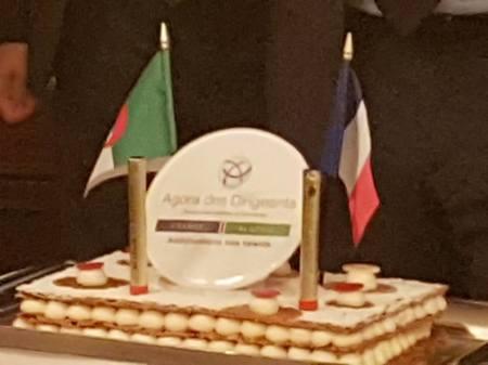 Au Fouquet's pour la présentation de selectadna france dans le cadre de l'agora France Algérie.