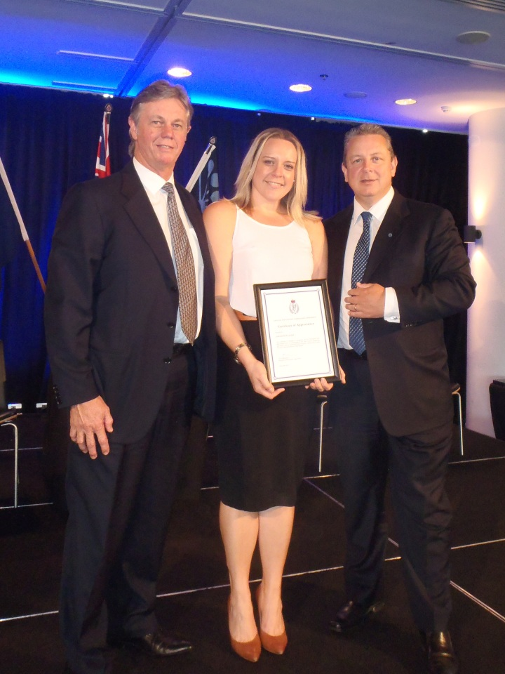 Businesses receive accolades from Police Commissioner