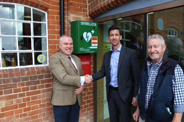 Defibrillators Marked With DNA To Protect Them From Theft
