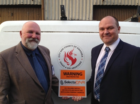 Huge Theft Reductions & Savings For Swansea Boiler Scheme