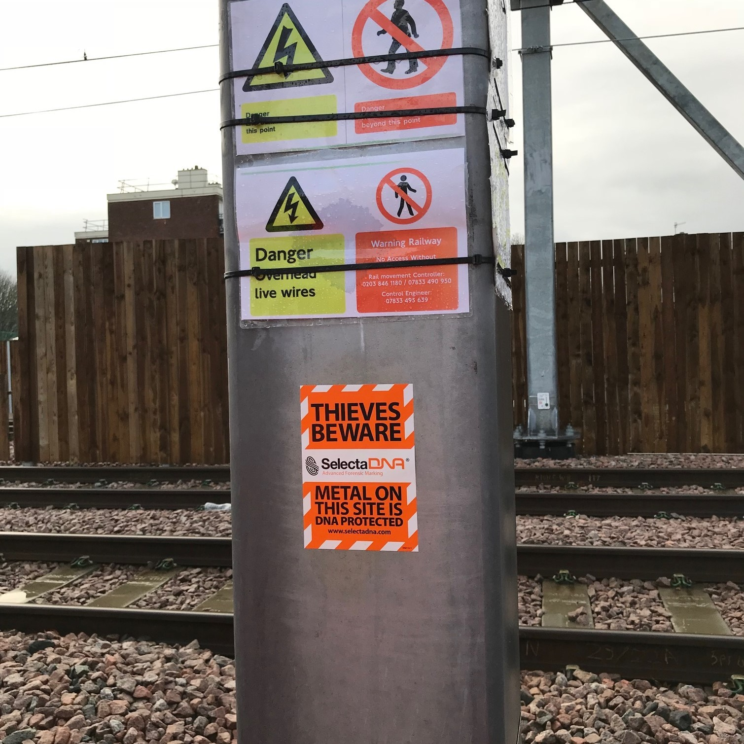 Keeping Crossrail Safe: No Thefts In Nine Months