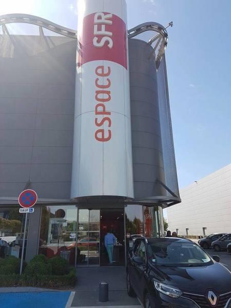 le premier magasin SFR protégé par SELECTADNA FRANCE