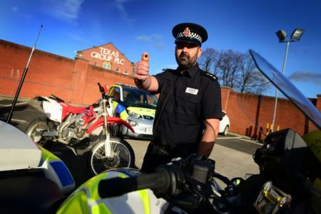Moped Crime: GMP Latest Force To Deploy New DNA 'Tagging' Spray