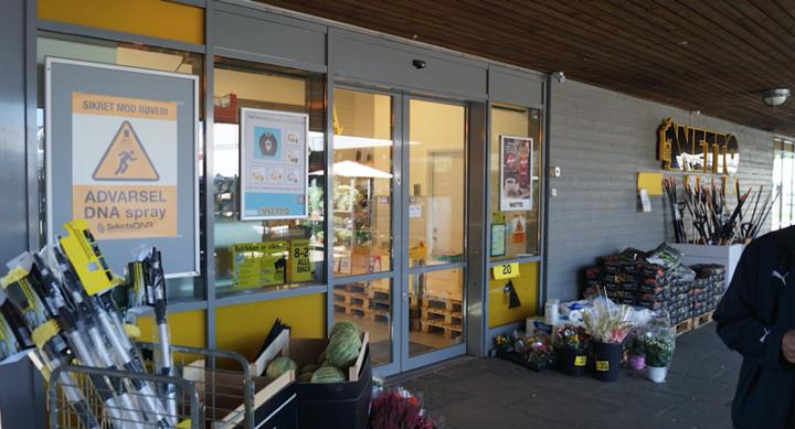 Netto Supermarkets Deploy DNA Spray To Deter Robberies