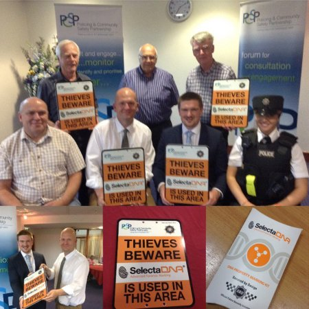 PSNI Anti-Burglary Scheme Launches in 9 Neighbourhood Watch Areas