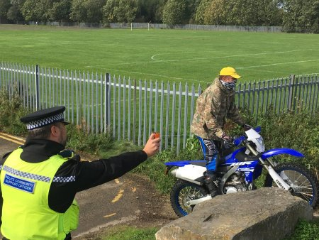 Northumbria Police Is Latest Force To Deploy DNA Spray Against Off Road Bikers