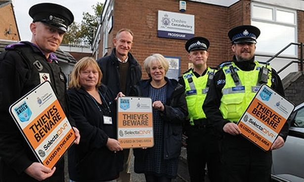 Operation Shield Extended After 83% Drop In Burglary In Cheshire West