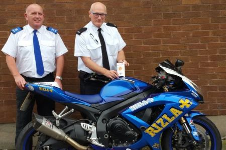 Police Distribute DNA Marking Kits To Combat Motorbike Thefts
