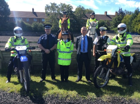 Police Use DNA Spray In Scrambler Bike Crackdown