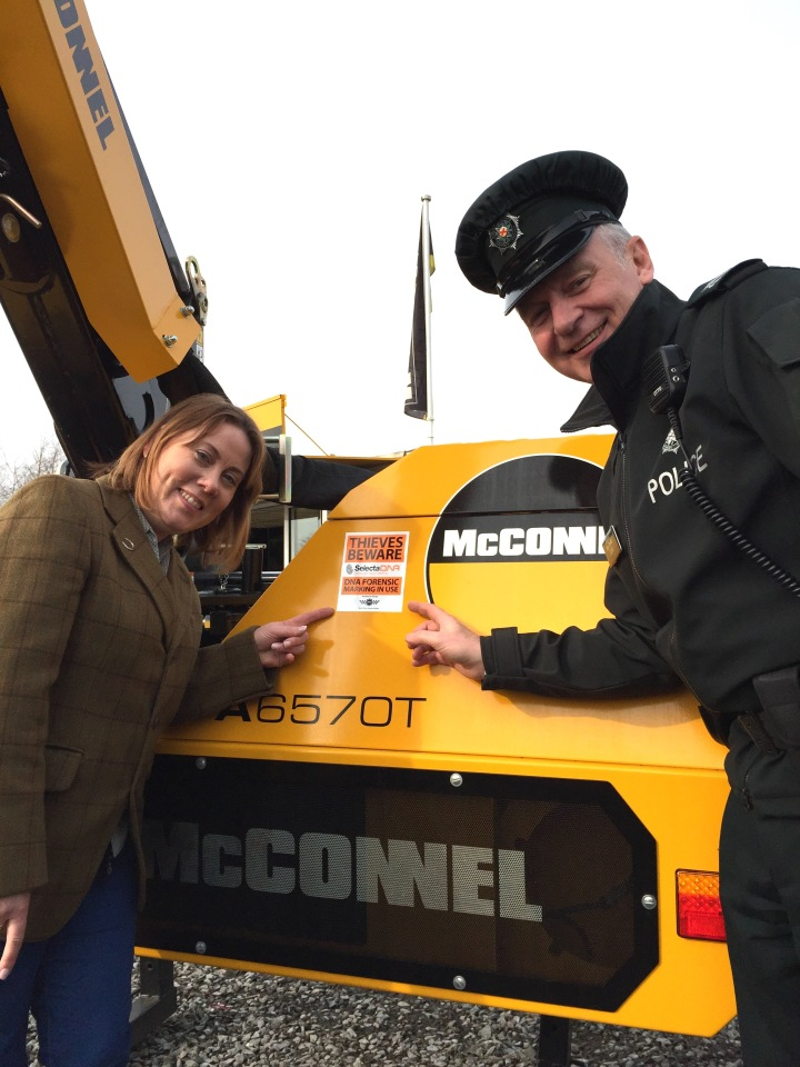 Policing and Community Safety Partnership Ploughs Into Rural Crime