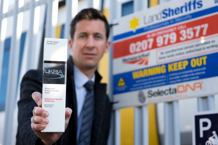 Product Innovation Winner At The UK Rail Industry Awards