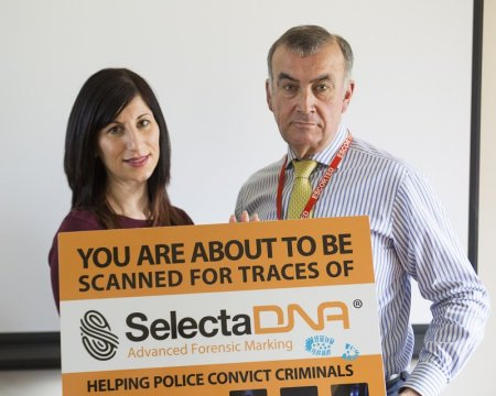 Spearheading Huge Campaign Against Burglary