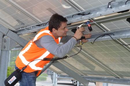 Taking The Shine Off Solar Panel Theft