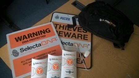 Police Take New DNA Action To Tackle Burglars