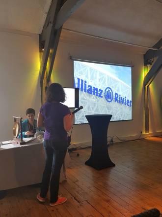 Allianz /selectadna : 1 ère présentation du projet de marquage.