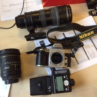 Arrest Made & Stolen Camera Equipment Recovered