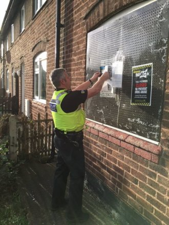 Chester's Void Properties Protected from Metal Theft