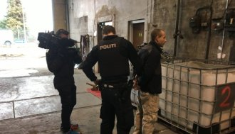 Danish TV Films Arrest Of Cable Thieves