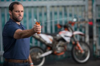 DNA Spray Used By Police To 'Tag' Lawless Bike Offenders