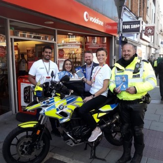 DNA Tagging Spray Helps Reduce Moped Crime in London Boroughs By 60%